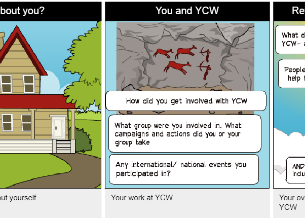 YCW- Share your story with us